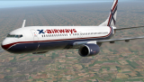 Ливрея X-Airways Boeing x737-800/BBJ2 v 5.4.0 ( XP10-11)