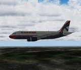 Ливрея X-Airways Airbus A319-100