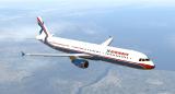 Ливрея X-Airways для Airbus A321 by Toliss