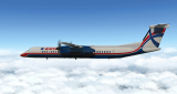 FlyJSim Dash8-Q400 (XP10-11) XRW Livery